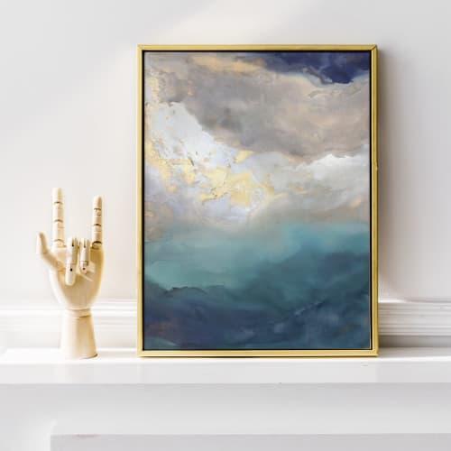 Saint Helena - Canvas Print | Paintings by Julia Contacessi Fine Art