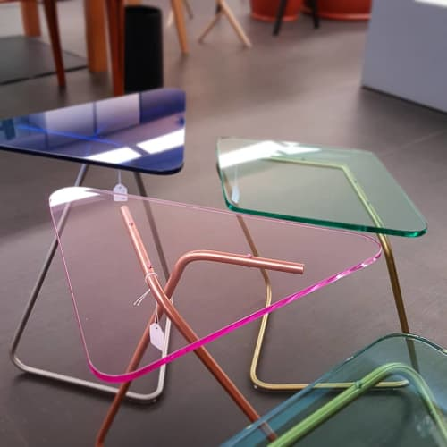 The Triangle | Tables by KRAY Studio by Rita Kettaneh | Sel Et Poivre - Alessi in Bayrut