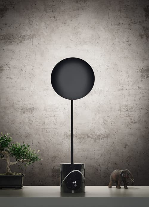 Lamps by Millelumen seen at Creator's Studio, Dreieich - millelumen circles