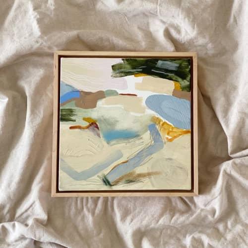 "Paintings by Quinnarie Studio - ""elevated"" 10""x10"""