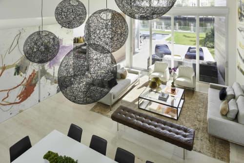 Random Light   Pendants by Bertjan Pot   Private Residence, Golden Beach, FL in Golden Beach