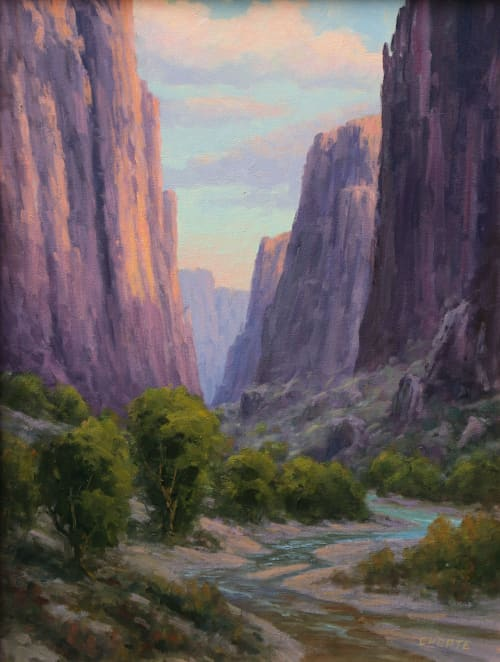 Paintings by Fred Choate Fine Art - Salmon Falls Canyon