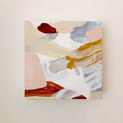 Paintings by Quinnarie Studio - Giraffe original canvas piece