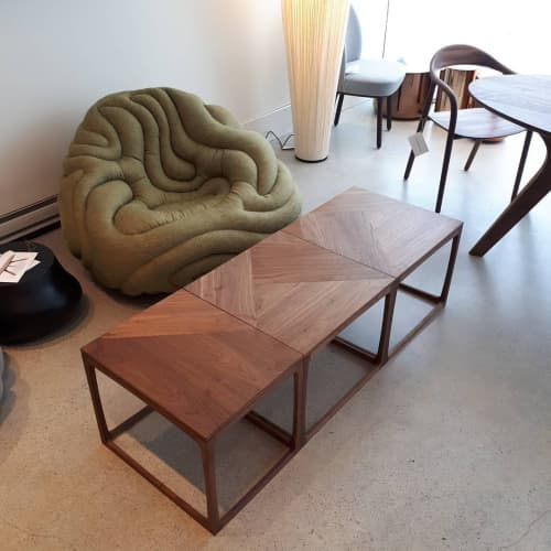 Tables by Studio Klager at SwitzerCultCreative, Vancouver - Folio 3 series