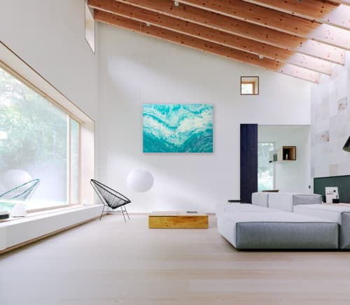TEAL TIDES   Paintings by Christina Twomey Art + Design