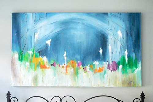 Abstract Oil Painting | Paintings by Daniela de Castro Sucre