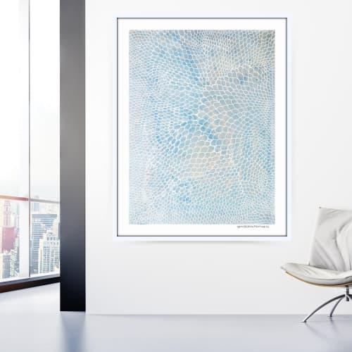 Art & Wall Decor by Seth B Minkin Fine Art at Seth B Minkin Studio + Showroom, Boston - Oval Scales   Limited Edition Print   Multiple Sizes Available