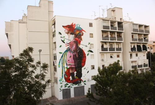 First Fire | Murals by Julieta XLF | Presso 167 B/Street in Lecce