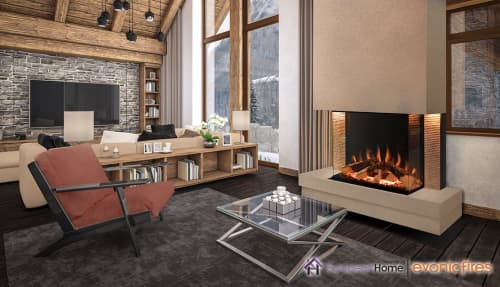 Fireplaces by European Home seen at Creator's Studio, Middleton - Tyrell Electric Fireplace