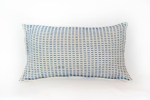 Iza Reversible Pillow   Pillows by Zuahaza by Tatiana
