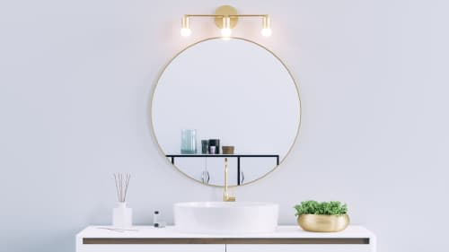 Avon - Wall Sconce Vanity - Mid Century Modern Lighting | Sconces by Illuminate Vintage