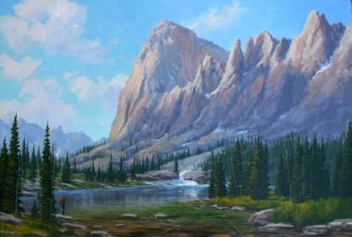 Paintings by Fred Choate Fine Art - Elephant's Perch - Sawtooths