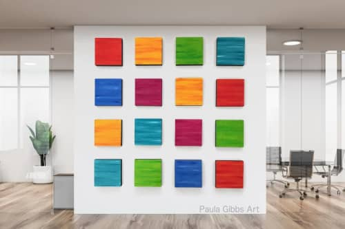 Sculptures by Paula Gibbs seen at Creator's Studio, Oro Valley - Extra Large Wall Art, Wall Sculpture, by Paula Gibbs