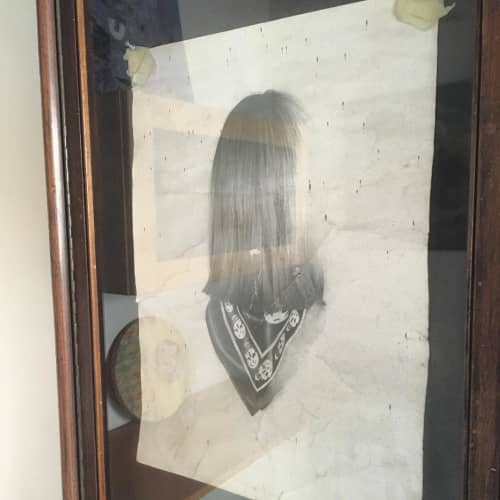 Girl Reversed Portrait | Paintings by Nettie Wakefield