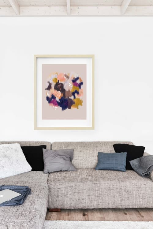 Paintings by Birdsong Prints - Minimalist Abstract Print