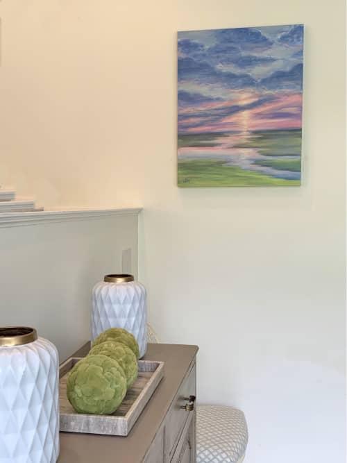 Sea Island Marsh   Paintings by Lelia Davis