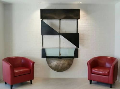 Sculptures by Ronna Nemitz at Larson Enginering, Inc., Scottsdale - Load, Sheer, Moment Diagram