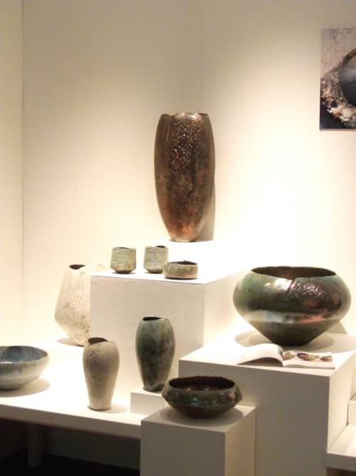 Sculptures by Stephen Murfitt - Turquoise Textured Bowl