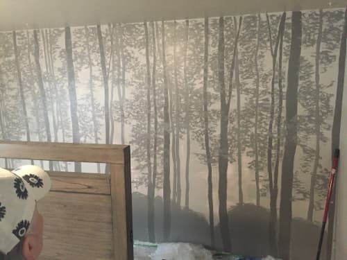 EARLY MORNING FOG   Murals by Anne Peterson