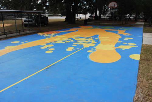 Adrenaline | Street Murals by Keith Doles | Crabtree Park in Jacksonville