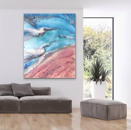 Paintings by ANTUANELLE at Sydney, Sydney - Azure | MARIE ANTUANELLE | Original Seascape Painting