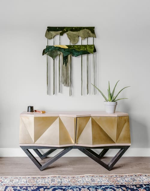 Furniture by Housefish seen at Private Residence   Denver, CO, Denver - Facet Console