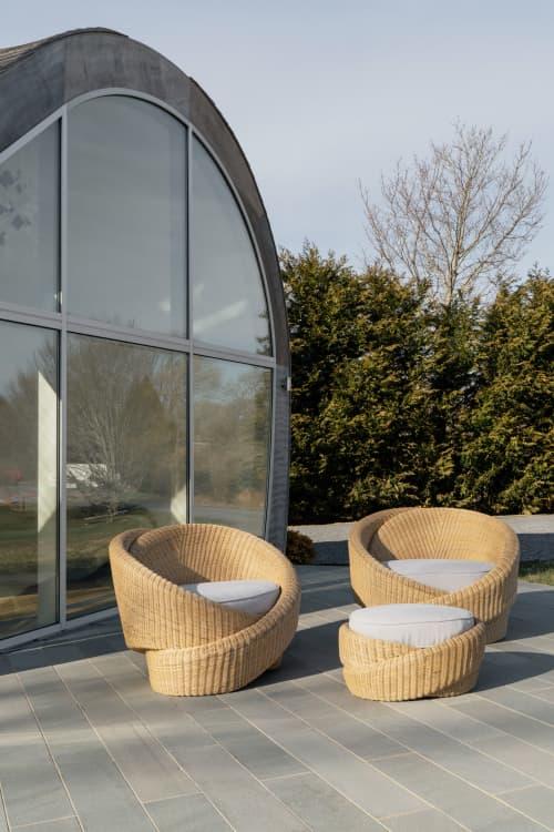 Chairs by nea studio | Nina Edwards Anker seen at Private Residence - New York City, NY, New York - Knotties
