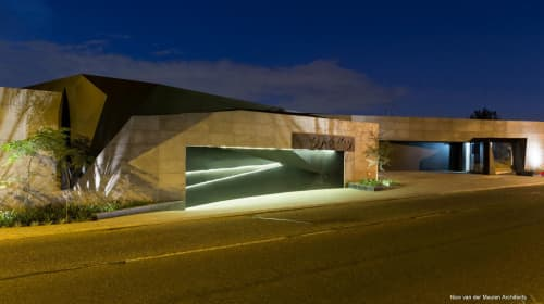 Architecture by Nico van der Meulen Architects seen at Private Residence, Germiston - Kloof Road