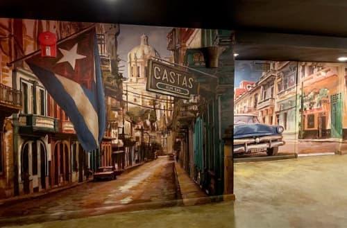 Casta's Rum Bar Murals | Murals by Nicolette Atelier | Casta's Rum Bar in Washington