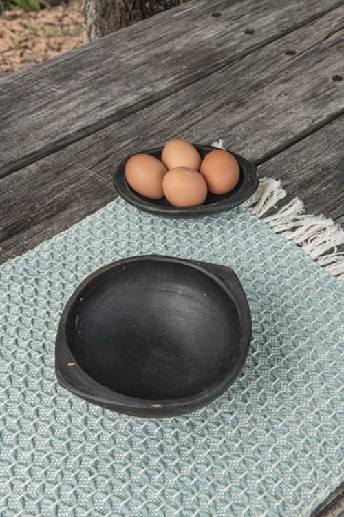 Diamond Naidi Blue Placemat | Tableware by Zuahaza by Tatiana