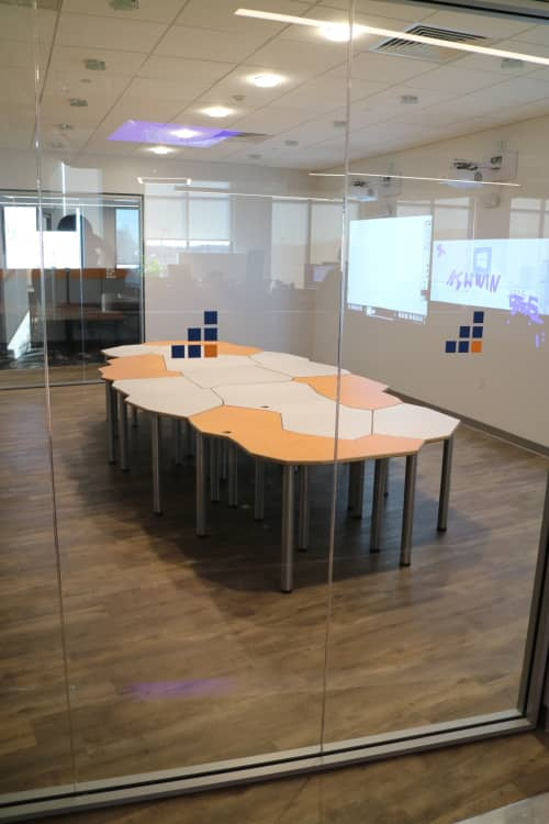 Tesselation Tables   Tables by CP Lighting   SevOne in Newark