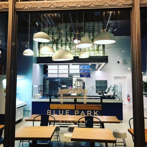 MushLume Hemi Pendant | Pendants by Danielle Trofe Design | Blue Park Kitchen in New York