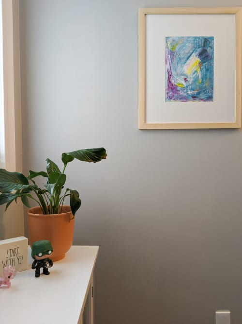 Paintings by Jillian Webb Herrmann | JWebb Fine Art seen at Private Residence, Concord - Beautiful You