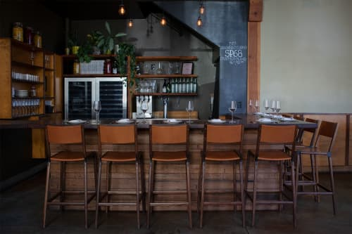 Stanyan Bar Stools   Chairs by Fyrn   Flour + Water in San Francisco