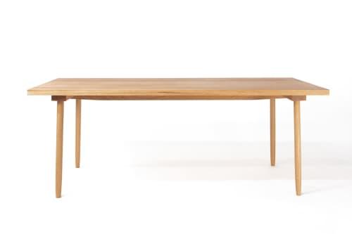 White Oak Dining Table   Furniture by Steve Wallin Furniture
