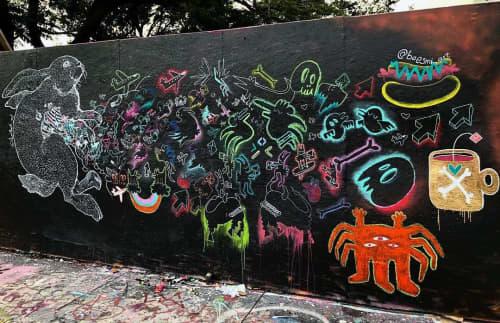 Murals by Sebastian Boesmi - Imaginary Grafitties