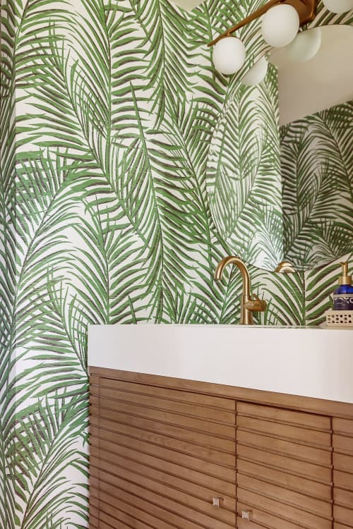 Wallpaper | Wallpaper by Thibaut | Private Residence, Houston in Houston
