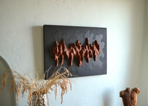 Big Splash II - Wall Art | Sculptures by Lutz Hornischer - Sculptures & Wood Art