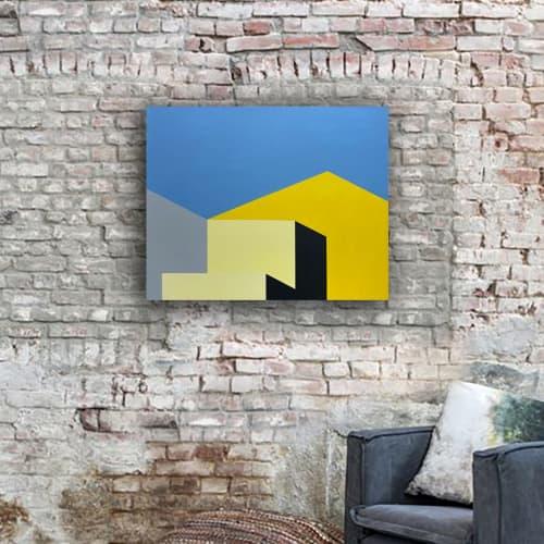 Paintings by Marco Domeniconi Studio seen at Creator's Studio, New York - Warehouse