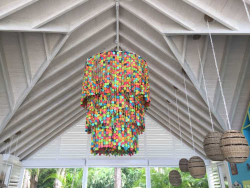 The Tropical 3 tier | Chandeliers by Mud Studio, South Africa