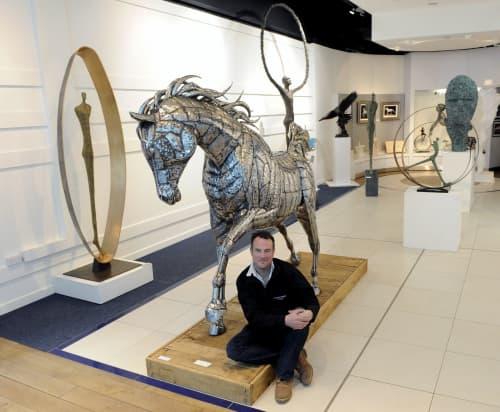 Horse sculpture | Sculptures by Michael Turner Studios