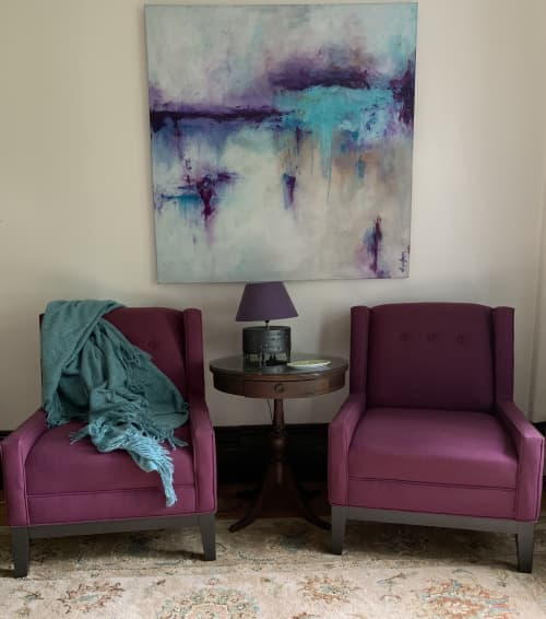 """Musing Along The Shore"" 🔴 | Paintings by Darlene Watson Fine Artist"