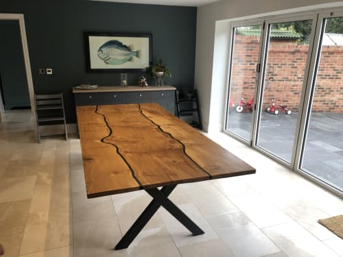 Oak River table | Tables by Rag & Byrne