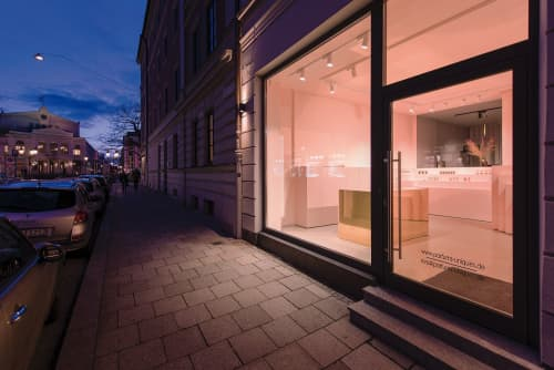 Perfume Store Munich   Interior Design by 1zu33 Architectural Brand Identity
