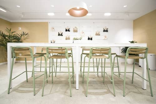 Interior Design by Gala Magrina Design at PVH Corp., New York - PVH Showroom