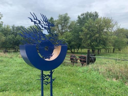 Flight   Public Sculptures by Hilde DeBruyne Art & Design LLC