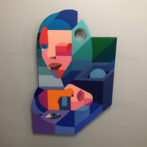 Murals by Moleiro Artwork - Desde aquí.