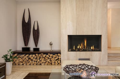 Fireplaces by European Home seen at Private Residence, Middleton - Modore 95