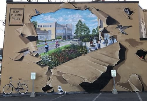 The Future of Mount Pleasant Village | Murals by Murals By Marg