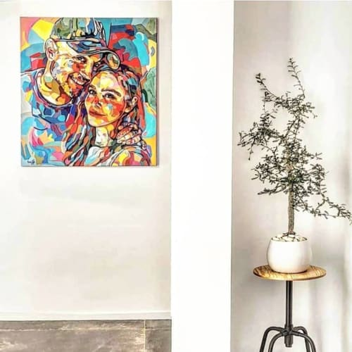 Paintings by Noemi Safir Artist - Commissioned portrait